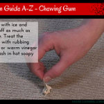 Stain Guide A-Z – Chewing Gum