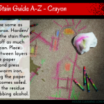 Stain Guide A-Z – Crayon