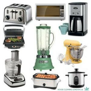 Kitchen appliance maintenance