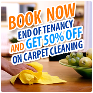 EOT + 50% Carpet cleaning
