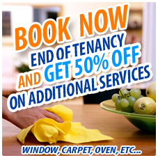 End of tenancy cleaning 50% OFF