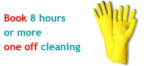 One off cleaning special offer